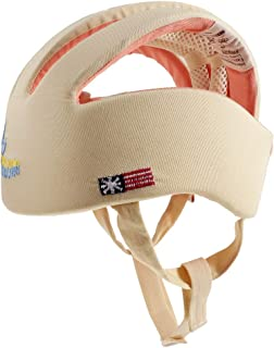 Baosity Infant Baby Toddler Safety Helmet Kids Head Protection Hat for Walk Crawl 2 Type - Beige, as described