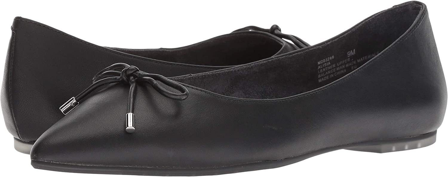 Me Too Womens Alisia 12 sale Quantity limited Flannel Comfort Ballet Flats