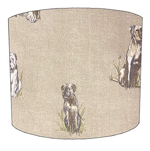 DELPH DESIGN LIGHTING LTD 8 Inch honden drum lampenkappen Voor een Plafond Licht
