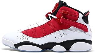 Jordan Men's Shoes Nike 6 Rings White Carmine 322992-106