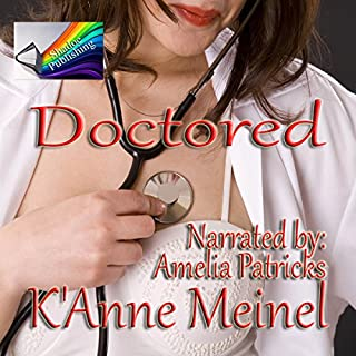 Doctored audiobook cover art