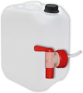 10 x 5 Liter CK-Kanister Behälter Trinkwasserkanister Wasserkanister Farbe natur
