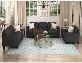 Amazon Com 3 Piece Living Room Set