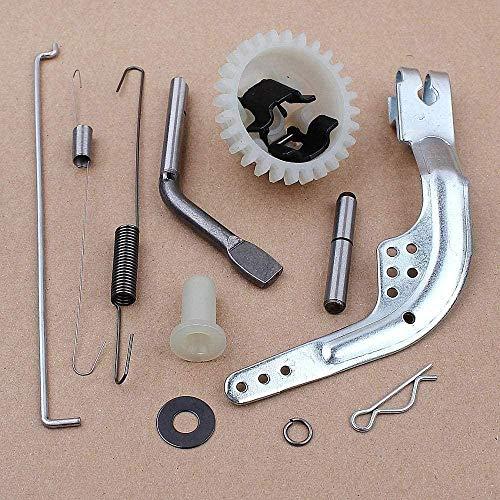 Conjunto de Engranaje de gobernador, cortacésped Apto para Honda GX140 GX160 GX200 5.5HP 6.5HP 168F Motor de Repuesto de Gas para Motor Well