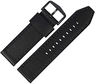 Fossil Bracelet de montre 24 mm en cuir noir - JR-1354   LB-JR1354