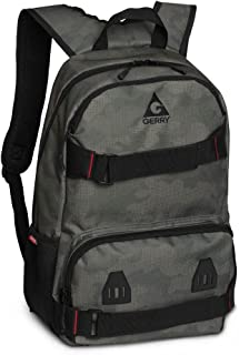 Gerry Outdoors - Lansing Nylon Camouflage Zip Top Backpack, Olive