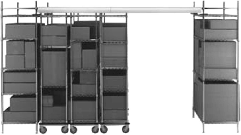METRO LTTM21C Super Ranking SEAL limited product TOP2 Erecta Double Top-Track Deep Kit Mobile Unit