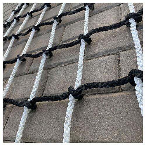 Cargo Climbing Rope Net,Safety Climbing Net Cargo Net Outdoor Rope Netting Playground Kids Climb Swing Mesh Rock Heavy Duty Netting Child Ladder Hammock Webbing Treehouse,for Kids Alduts Playset,14mm