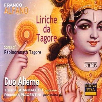 Alfano: Liriche da Tagore - Songs of Rabindranath Tagore
