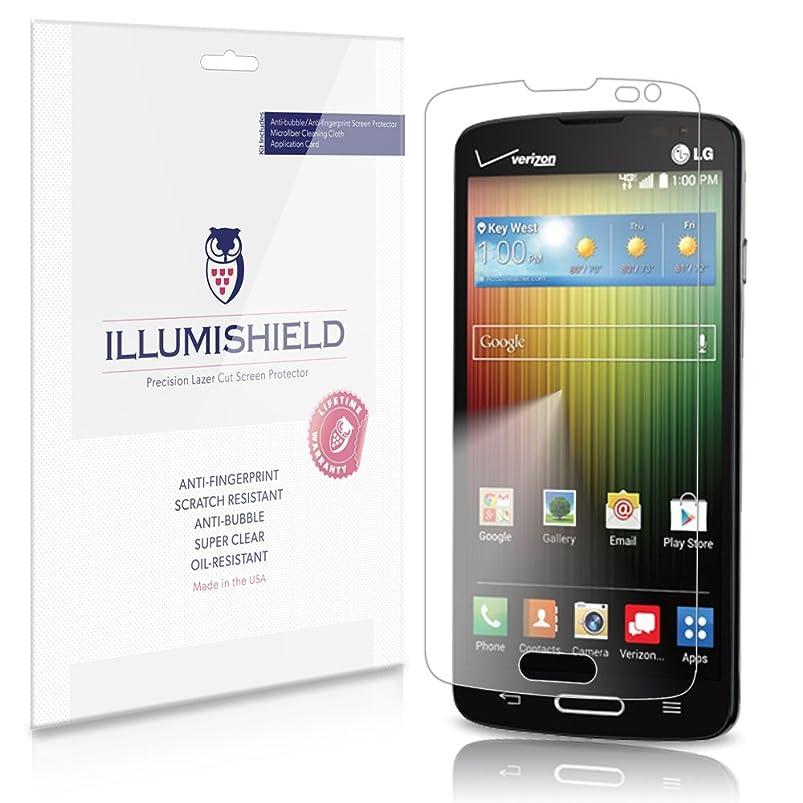 iLLumiShield Clear Screen Protector For LG Lucid 3 [3-Pack] aglucvqj154172
