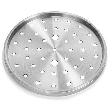 Barton Pressure Canner 22-Quart Capacity Pressure Cooker Built-in Pressure Gauge with (1) Rack, Aluminum Polished