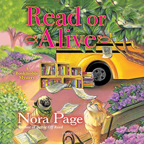 Read or Alive: A Bookmobile Mystery cover art