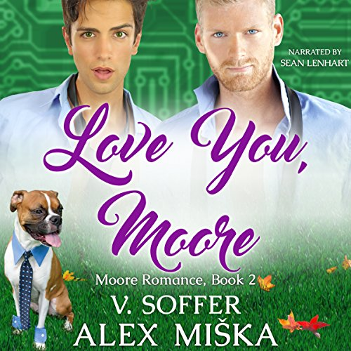Love You, Moore audiobook cover art