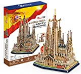 CubicFun- Puzzle 3D Sagrada Familia (CPA Toy Group Trading S.L. MC153H)