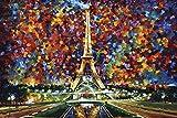 Close Up Paris of My Dreams Poster Leonid Afremov (91,5cm x