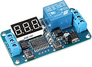 DC 12V LED Display Interruptor Digital Delay Timer Módulo de control PLC