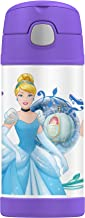 Thermos FUNtainer Vacuum Insulated Drink Bottle, 355ml, Disney Princess, F4017PN6AUS