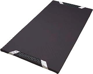 東京 西川 [エアー] スリム マットレス シングル ベッドの上に1枚プラス 点で支える 持ち運び用 出張 遠征 エアー AiR ブラック HD07331621M