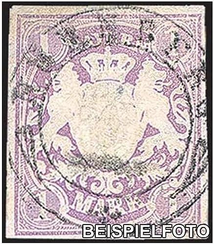 Goldhahn Bayern Nr. 30 gestempelt Briefmarken für Sammler