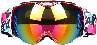 Aooaz Ski Goggles Pro Snow Goggles Anti Fog Uv Protection Anti Slip Strap For Men Women