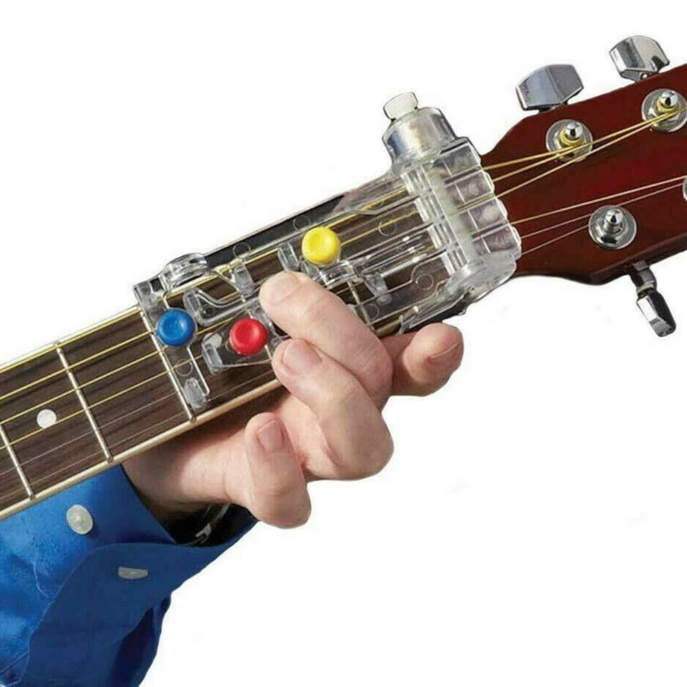 YIDADIAN - Guitarra de entrenamiento para guitarra, sistema de ...