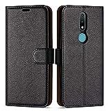Case Collection Étui de Style Portefeuille avec Rabat pour Coque Nokia 2.4...