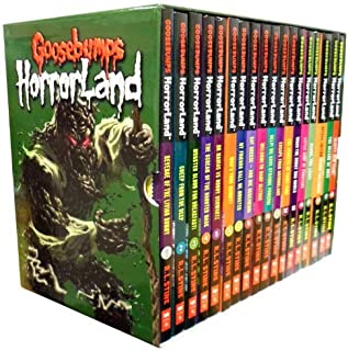 Goosebumps Horrorland Collection (18 Volume Set) by R. L. Stine (2013-05-04)