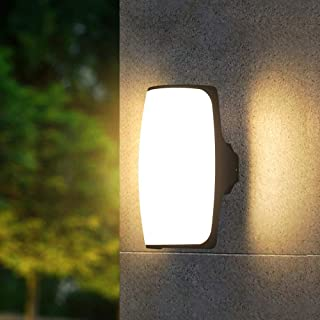 Mopoq LED outdoor wall lamp waterproof outdoor wall lamp exterior wall lamp villa courtyard lamp household gate balcony te...