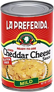 La Preferida Cheddar Cheese Sauce, 15 oz (Pack - 6)