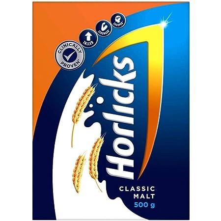 Horlicks Health & Nutrition drink - 500 g Refill pack (Classic Malt)