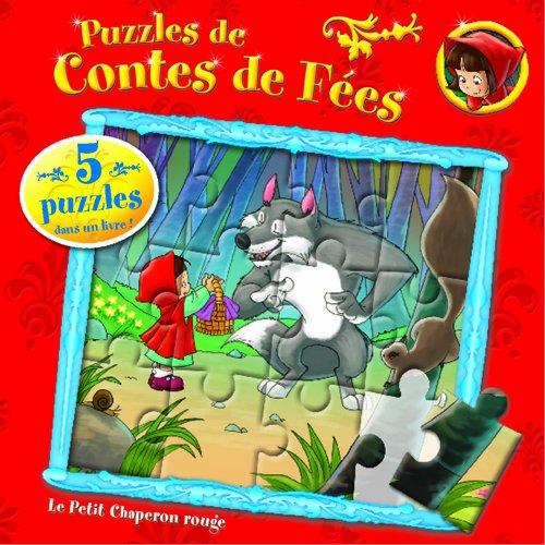 puzzle yo yo Fairytale Jigsaw Fun: Roodkapje FR: Puzzles de Contes de fées