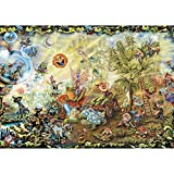 Jigsaw Puzzles 2000 Pieces for Adults Dream Combo Gnome Fantasy Challenging Puzzle Difficult Puzzles Large Puzzle Game Toys Gift 27.56 x 39.37 Inches