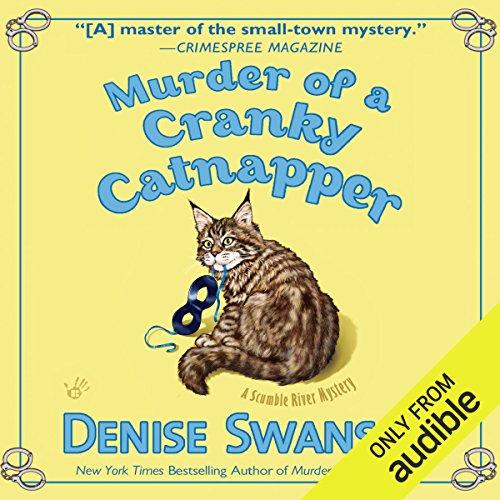 Murder of a Cranky Catnapper audiobook cover art