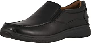 فلورشايم Great Lakes Moc Toe Slip-On Black Smooth 13