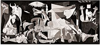 Alonline Art - Guernica by Pablo Picasso | print on high quality fine art photo paper poster (Rolled) | 45