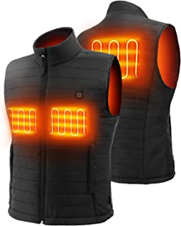 Heated Vest with Battery Pack, Electric Warm Gilet, Men's Heated Vest for Outdoor Winter