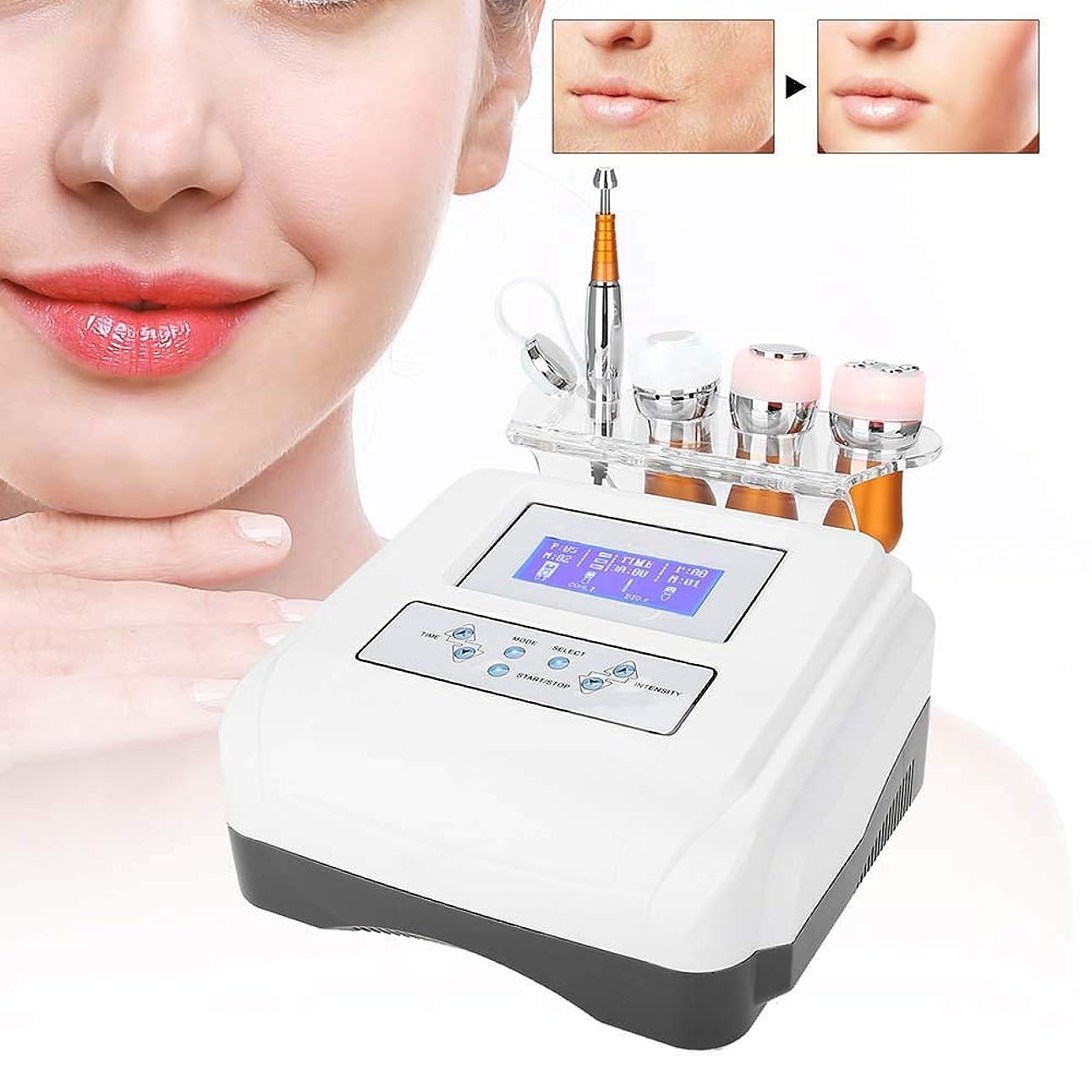 不安アライメント正午多機能顔美容機、若返り肌アンチエイジングリフトスキンのための高周波肌引き締め冷凍美容デバイス、アイバッグとアイサークル(01)