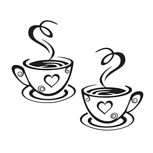 Wallpaper Border 41 Self Adhesive Tea /& Coffee Cups