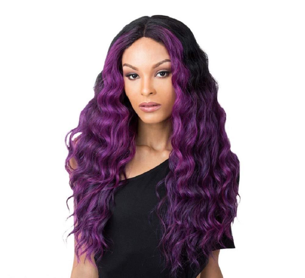It's A Wig Synthetic Hair 売り込み Deep Part AUBURN Center FF Edgar セール特価