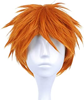 Cosplay for Ichigo Kurosaki Wigs, Orange