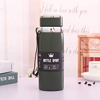 Travel Mug, Thermos Mug | 600ml-800ml-1000ml | Keep High Temperature For 6 Hours And Low Temperature For 12 Hours | 100% T...