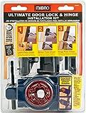 MIBRO 366291 Ultimate Door Lock and Hinge Installation Kit for Wood Doors