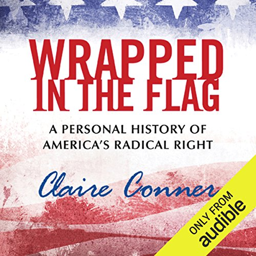 Wrapped in the Flag audiobook cover art