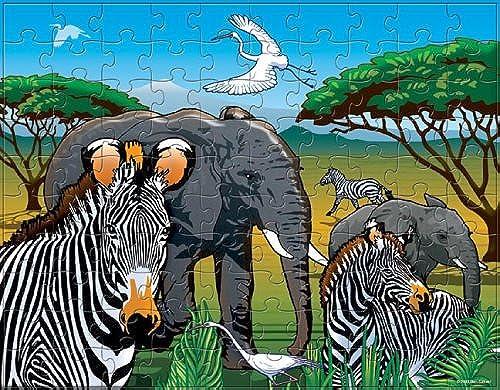 étui à rabat-africain