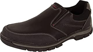 Memphis One Mens Faux Leather Casual Slip On Loafer Shoes
