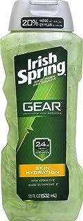 Irish Spring Gear Skin Hydration Body Wash For Unisex 18 oz
