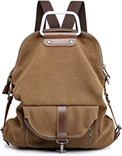 XHHWZB Travel Canvas Simple Rucksack Backpacks for Girls and Boys School Bookbags
