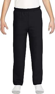 Gildan Unisex-Child Elastic Bottom Youth Sweatpants Sweatpants