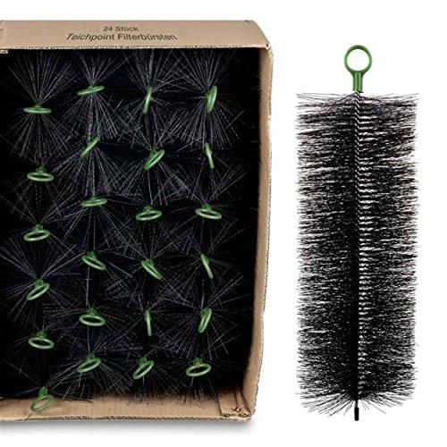 Wagner GREEN 24 Stück Filterbürsten, für Ihren Teichfilter und Koi Teich Filter (40x15 cm)
