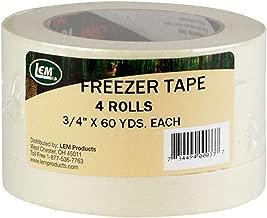 LEM Products W033-4 Pack Freezer Tape (Shrink wrap)
